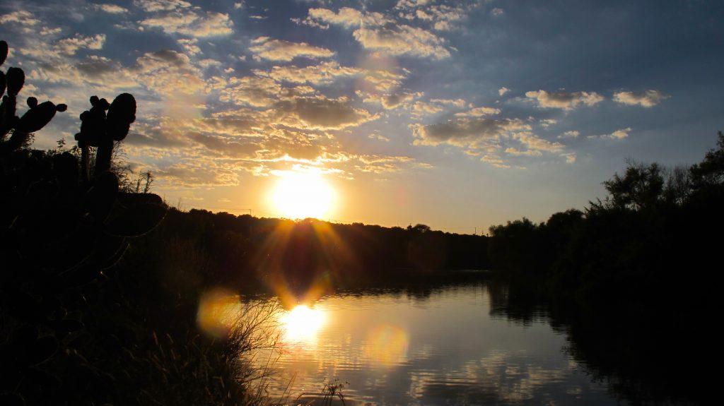 Reflective sun