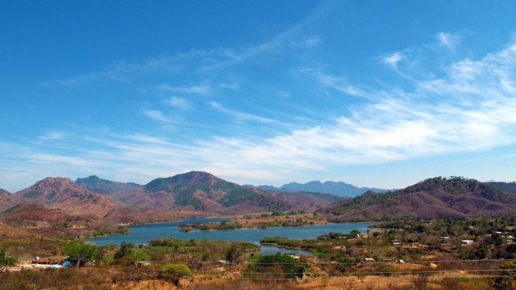 Mountain lagoon Chiapas